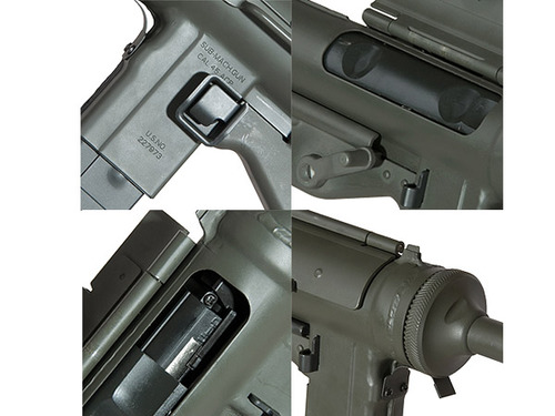 <br /> ARES製 新型M3グリースガン(ブローバックモデル)【SMG-004】