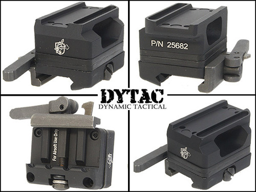 DYTAC製【KACタイプ】QD Mount for T-1 Dot(DY-MT07-BK)