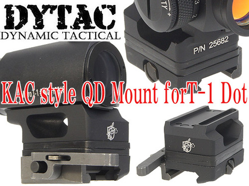 DYTAC製【KACタイプ】QD Mount for T-1 Dot(DY-MT07-BK