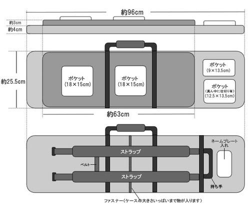 次世代M4/MP5収納可能!! ソフトガンケース(ガンリュック)