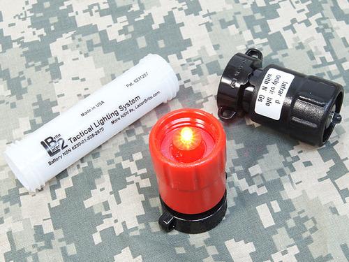【訳あり市場アウトレットSALE】【実物Lazer Brite】 LB2 TACTICAL LIGHTING SYSTEM RED/IR (赤外線)(米軍放出品)