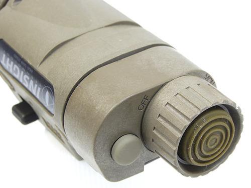 実物新品【INSIGHT】ITI M3X A23Long Gun タクティカルイルミネーターTAN IRフィルター付属(軍納品仕様)