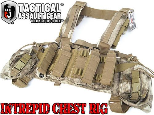 【送料無料】実物【T.A.G.】Intrepid Chest Rig 【A-TACS】 (ICR1AS)