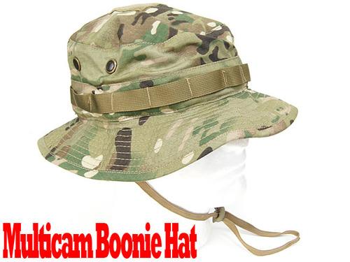 リアルカラー!!Multicam Boonie Hat (マルチカム ブーニーハット)