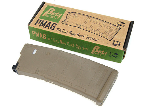 【MAGPUL PTS】(Beta Project)30 Rounds P-MAG(WA Gas Brow Back System)