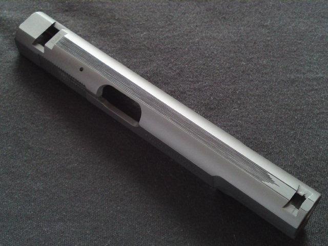 タナカ ブローニングハイパワーMk.Ⅲ スライド加工など
