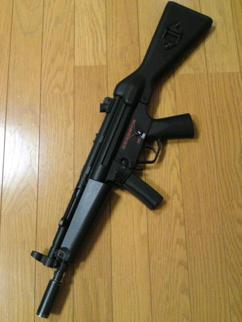 MP5A4 迷彩カスタム