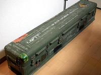 スティンガーミサイルのコンテナ