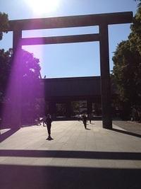 靖国神社( ̄^ ̄)ゞ
