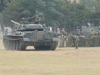 豊川駐屯地 記念行事 模擬戦闘
