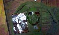 ガスマスク到着!!