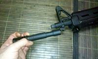 AEG製 M4A1 バレル交換