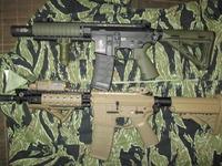 ACM製 M7A1 ODカラーにする。