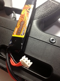 PDRのバッテリーと電動ガンについて。