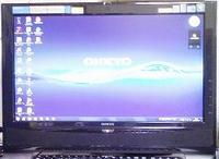 PC ONKYO E515A7B液晶ディスプレイ不具合対策 その1