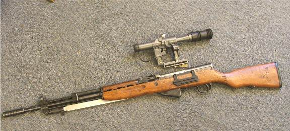 Anyone think a rail-mounted peep sight on an SKS would work