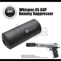 【MADBULL】 Whisper.45 ACP Dummy Suppressor