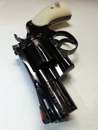 タナカ製 Colt Python Snake Eyes 2.5inch R-model スチール・フィニッシュ