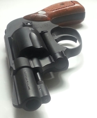 タナカ製 S&W M49 bodyguard HW