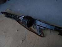 ショウエイ 電動MG42にG&Gドラムマガジンを付ける