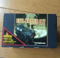 LAYLAX ドットサイト Evil Killer 07のレビュー 2016/07/07 00:01:00