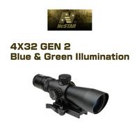 【Ncstar】3~9倍42mmGEN2 ブルー&グリーン イルミネーションスコープ