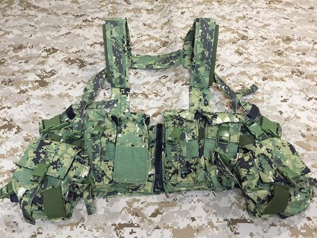SEAL teamで使用例のあるチェストリグ