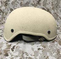実物 Armor source ハイカットヘルメット tan AS-501HC (MICH 2001) USEDのご紹介