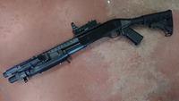 M3用M4ストックアダプターAタイプ GBB