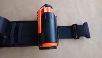 ・Crystal Water Beads Bomb BBグレネード ・SP製 GR02 210発 6mm BB弾専用 インパクト グレネード スプリング式 プラスチック製 - ブラック の専用ホルダー