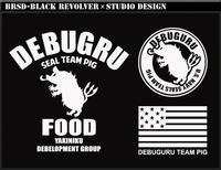 SEAL TEAM PIG DEBUGURU      Tシャツ再入荷