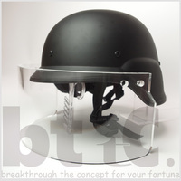 バイザーヘルメットの製作進捗状況