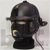 欧州LE特殊部隊バイザーヘルメットタイプ1