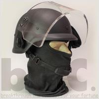 欧州LE特殊部隊バイザーヘルメットタイプ1販売開始