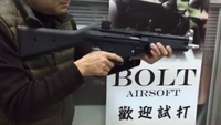 リコイル付きMP5が発表!!! MP5 RecoilShock AEG by BOLT AIRSOFT!!