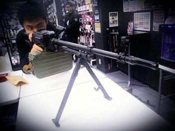 A&K PKM Snow Wolf M240B Fortress Ikebukuro