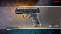IWA2016速報:Beretta APX GBB, HK G28 GBB, HK45CT GBB etc