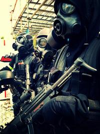 ガスマスク限定サバゲイベント