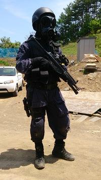 佐久AF&夏のガスマスク装備検討
