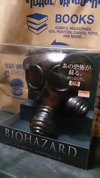 バイオ公式ハンク(ガス)マスク!