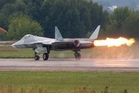 ロシアのT-50、故障で航空ショー中断!