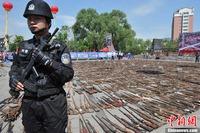 中国エアガン規制! 違法銃を含め10万本以上没収