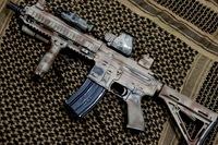 WE HK416 塗装