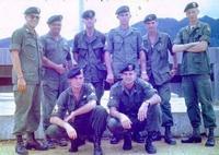 米陸軍特殊部隊群パッチ付きジャングルファティーグ