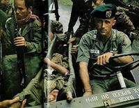 米陸軍特殊部隊群パッチ付きユーティリティシャツ