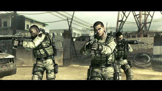 BSAA                                                             Sig 556 Resident Evil 5
