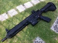 HK416 M320A1グレネードランチャーM870タクティカる