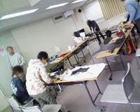 第2回め鎧の自作教室開催しました