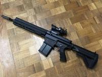 VFC HK417 GBBのグリップをM4グリップに交換!