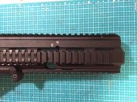 マルイ 次世代 HK417ショート化カスタム ~これって何インチ??~